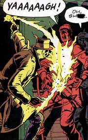 Rorschach lights him up