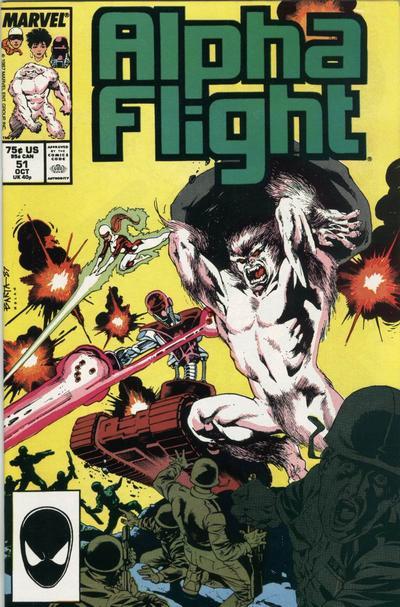 Alpha Flight Marvel Volumen 1 #051 a #060 Español PL Comics en CBR
