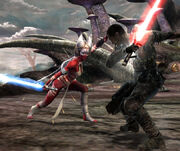 Shaak Ti vs Starkiller