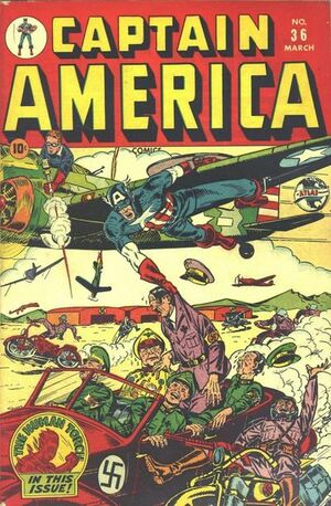Captain America Comics Vol 1 36