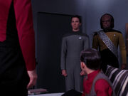 Picard summons wesley worf to talk to jeremy