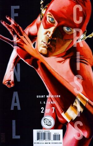 Cover for Final Crisis #2