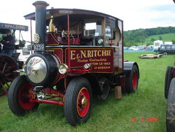 Foden steam tractor RY9259