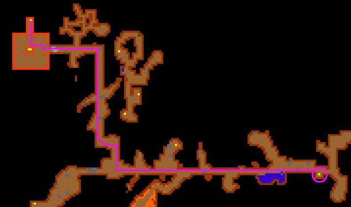 Route mintwallin tibiawikinl quests voorwerpen for Door 999 tibia