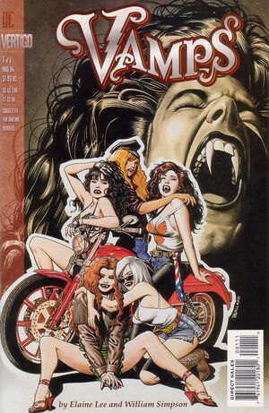 Cover for Vamps #1