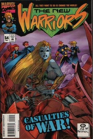 New Warriors Vol 1 54