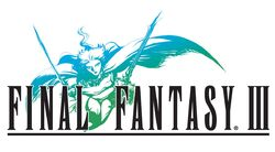 Logo Final Fantasy III DS