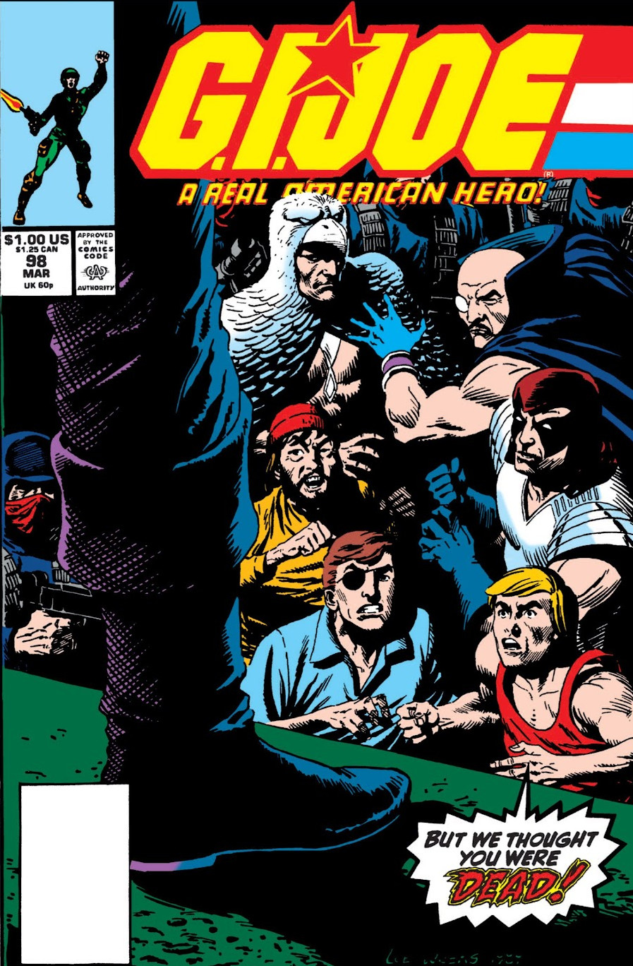 G.I. Joe A Real American Hero Vol 1 98
