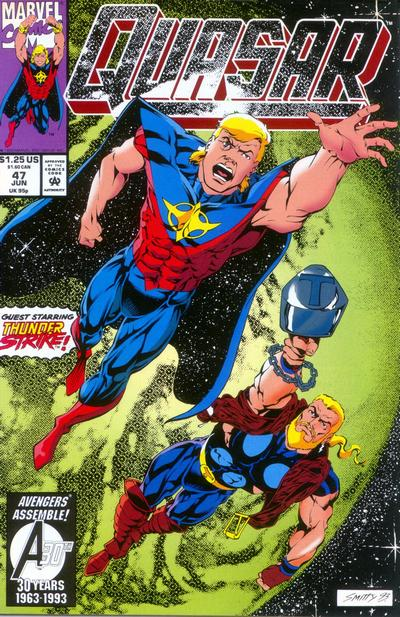 Marvel Comics Quasar