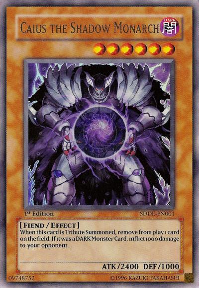 CaiustheShadowMonarch-SDDE-EN-UR-1E pngYugioh Cards Rare List
