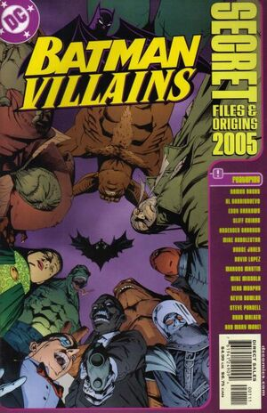 Cover for Batman Villains Secret Files and Origins #2005
