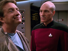 Paul Stubbs and Jean-Luc Picard