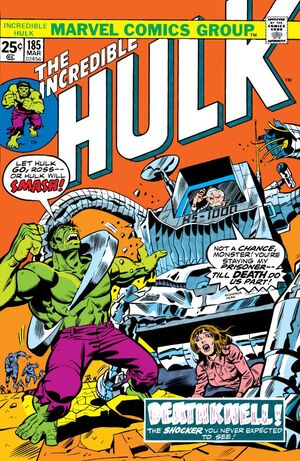 Incredible Hulk Vol 1 185