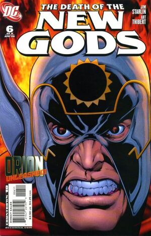 Cover for Death of the New Gods #6