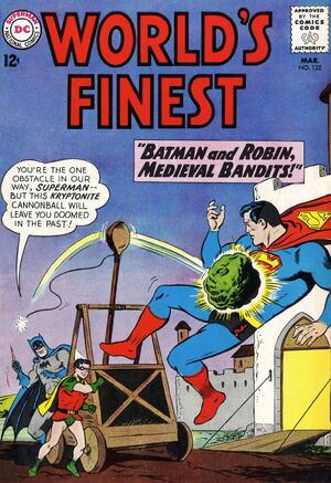 Cover for World's Finest #132