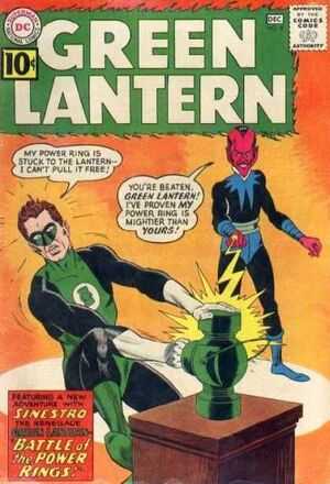 Cover for Green Lantern #9