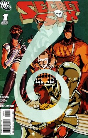 Cover for Secret Six #1