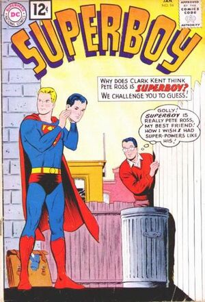 Cover for Superboy #94
