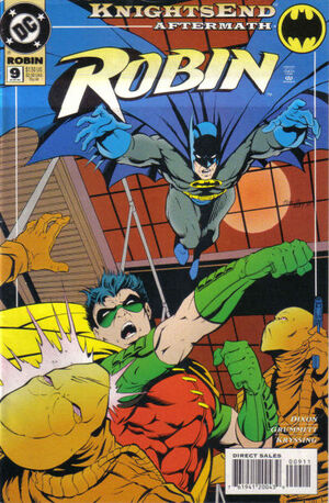 Cover for Robin #9
