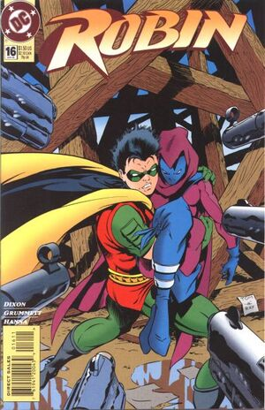 Cover for Robin #16