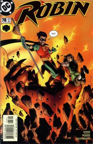 Cover for Robin #78