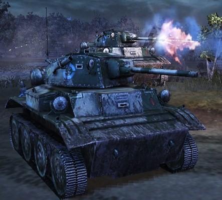 Tetrarch Tank Combat History | RM.