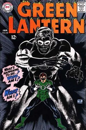 Cover for Green Lantern #58