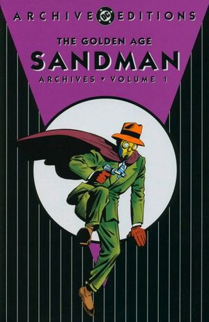 Cover for Golden Age Sandman Archives #1