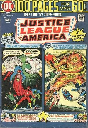 Cover for Justice League of America #115