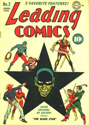 Cover for Leading Comics #2