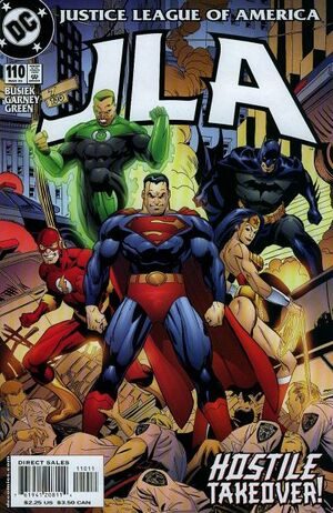 Cover for JLA #110