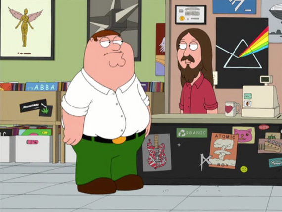 Family Guy Season 7 Episode 2 I Dream of Jesus