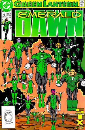 Cover for Green Lantern: Emerald Dawn #6