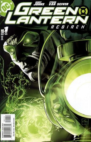 Cover for Green Lantern: Rebirth #1