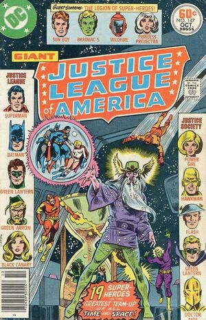 Cover for Justice League of America #147
