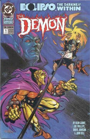 Cover for Demon #Annual 1