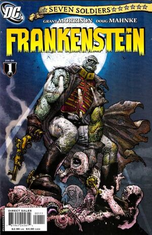 Cover for Seven Soldiers: Frankenstein #1