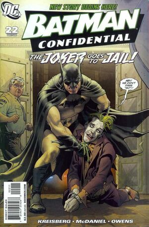 Cover for Batman Confidential #22 (2008)