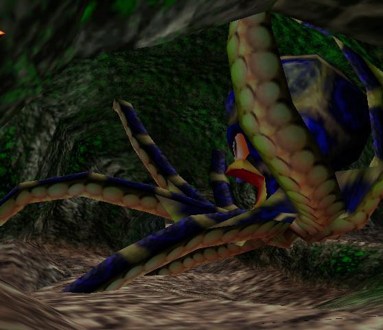 Riesen Krake