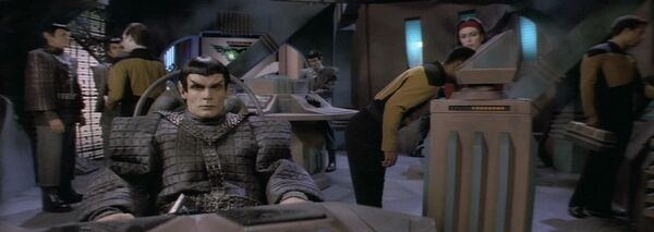 Romulan science vessel, engine room