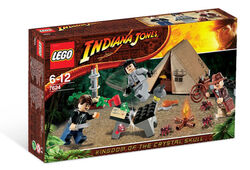 Lego Indiana Jones 7624 Jungle Duel.