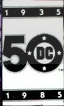DC 50th Logo