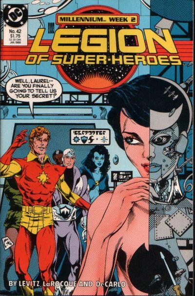 Legion of super heroes vol 3 42