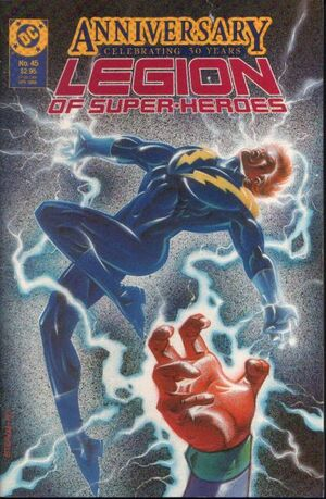 Cover for Legion of Super-Heroes #45