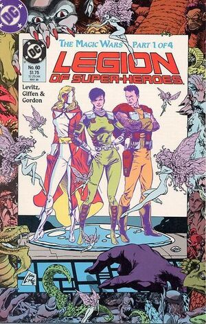 Cover for Legion of Super-Heroes #60