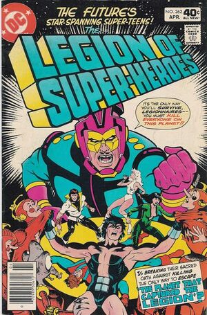 Cover for Legion of Super-Heroes #262