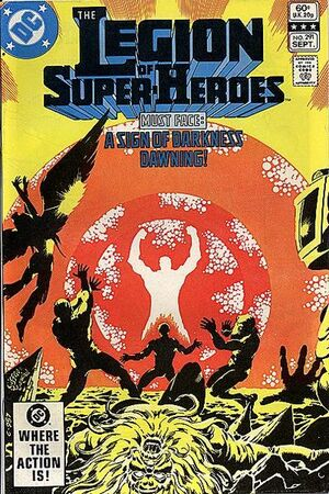 Cover for Legion of Super-Heroes #291