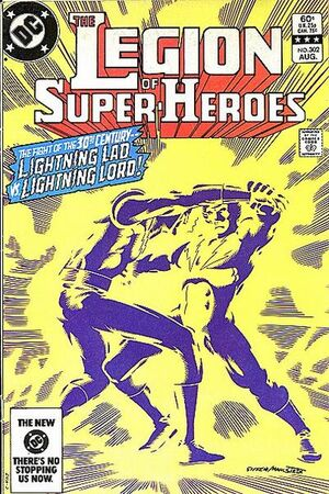 Cover for Legion of Super-Heroes #302