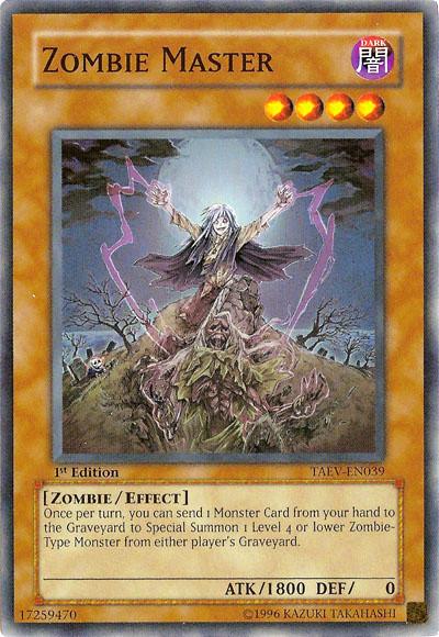 Zombie Master Card Errata:Zom...