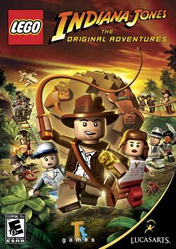 Lego Indiana Jones The Original Adventures cover